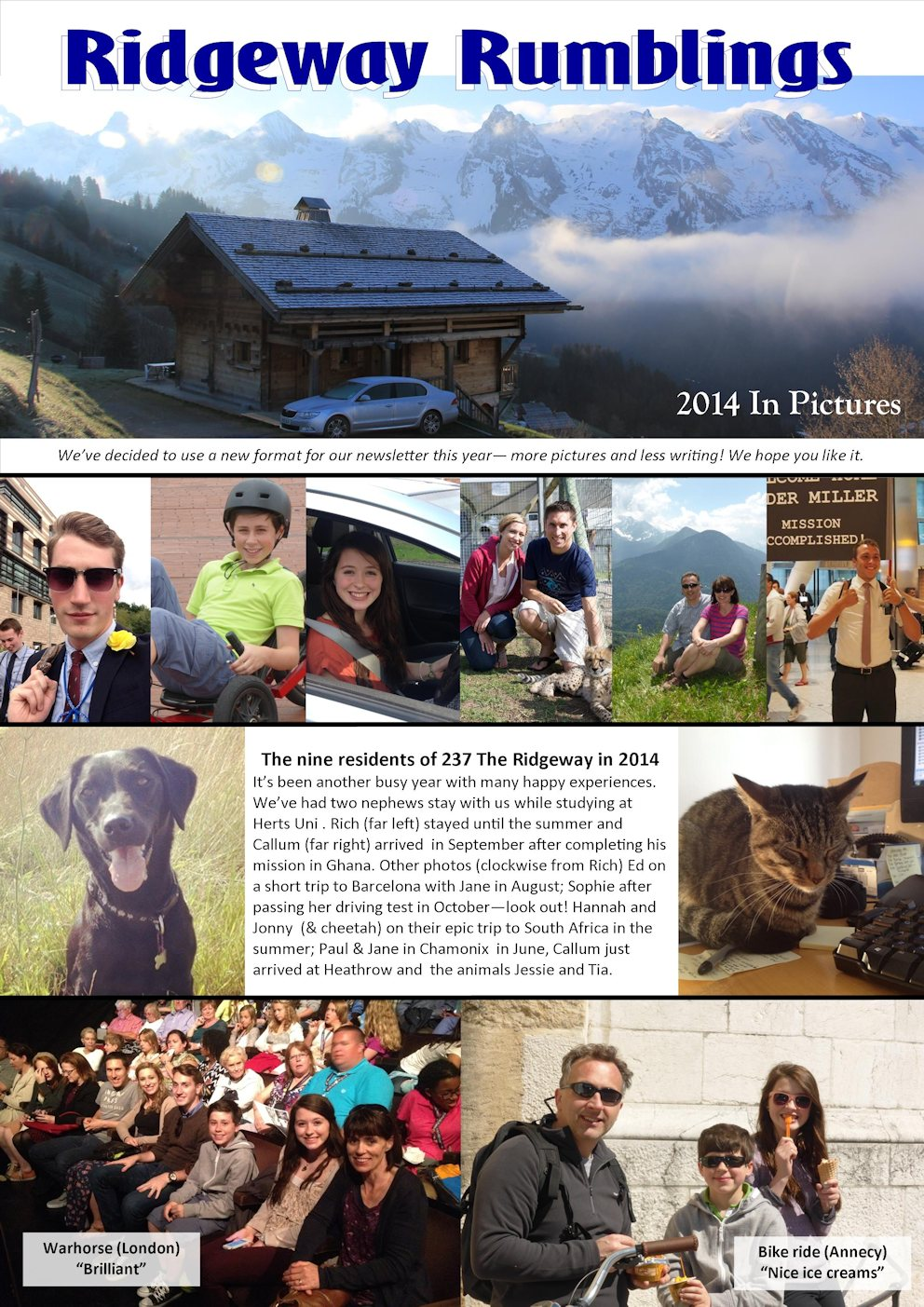 Elvidge Family News 2014